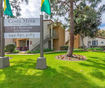 Community Signage, Costa Mesa Family Village