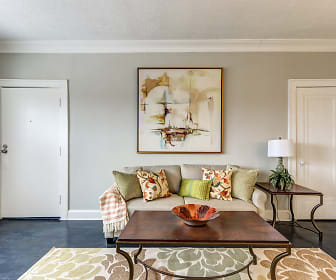 Living Room, Maycourt Apartments