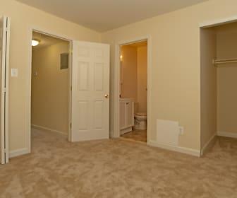 Bedroom, Wyman Court Apartments