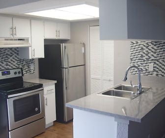 Kitchen, 49th St Apartments