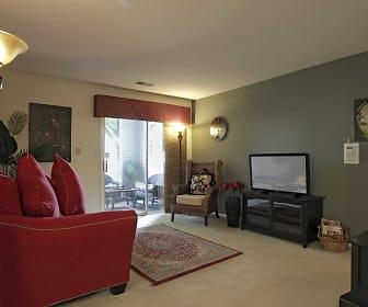 Living Room, Coffey Creek Apartment Homes
