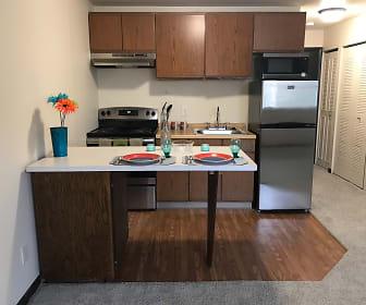 Courtyard Apartments, James Madison Park, Madison, WI