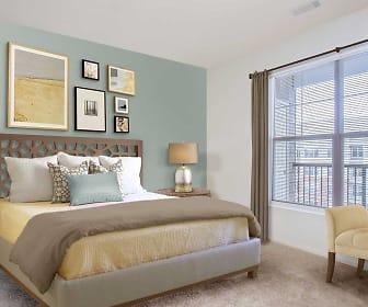 bedroom featuring plenty of natural light and carpet, Avalon East Norwalk