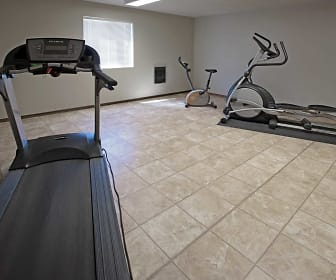 Fitness Weight Room, Auburn Manor Apartments