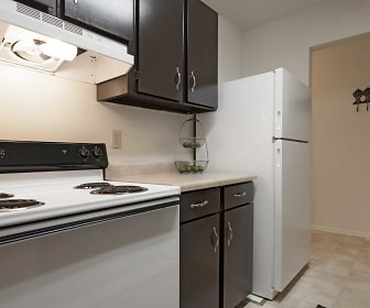 Kitchen, Forestbrook Apartments
