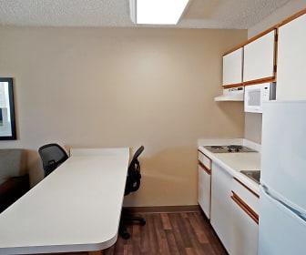 Kitchen, Furnished Studio - Fishkill - Route 9