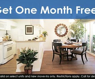 Get One Month Free!*, Mediterranean Village