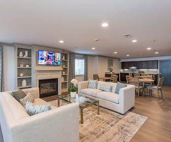 Living Room, The Muse at Town Center (55+)