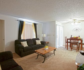 Living Room, Whispering Meadows Apartments and Suites