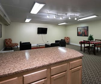 Clubhouse, Amberson Plaza Apartments