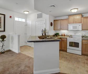 Open Floor Plan Apartment, Graham Hill Apartments