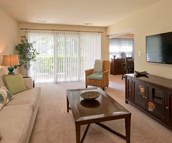 Living Room, Thalia Gardens Apartments and Townhomes