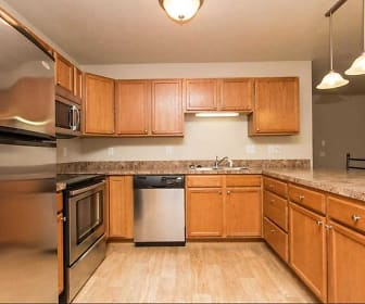 Kitchen, Northdale Apartments