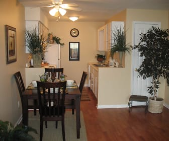 Dining Room, Clairborne Court Apartments