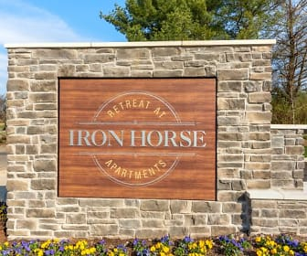 Community Signage, The Retreat at Iron Horse Apartments