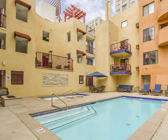 Pool, 600 Front Apartments