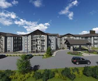 Building, The Bluff at Greystone - Senior 55+
