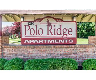 Community Signage, Polo Ridge Apartments