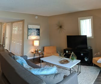 Living Room, Sixty58 Townhomes