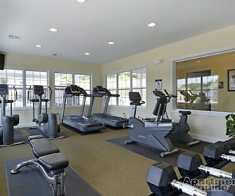 Fitness Weight Room, The Reserve at Parkland
