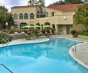 Pool, eaves Thousand Oaks