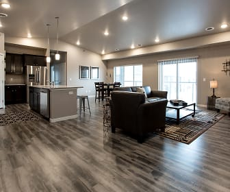 Living Room, Shadow Crest Townhomes