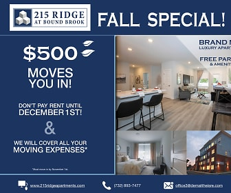 215 Ridge at Bound Brook -Now Leasing, 08880, NJ