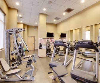 Fitness Weight Room, East Bank Communities