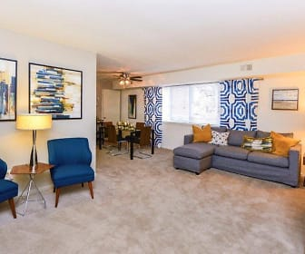 Living Room, Brookmont Apartment Homes