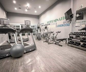 Fitness Weight Room, Sage Corpus Christi