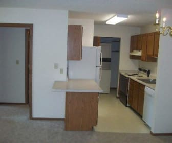 Kitchen, Parkside Apartments / Grace Manor Apartments