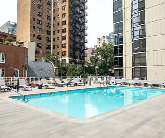 view of swimming pool, 65 East Scott Building