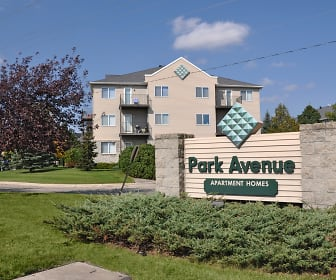 Community Signage, Park Avenue Apartments