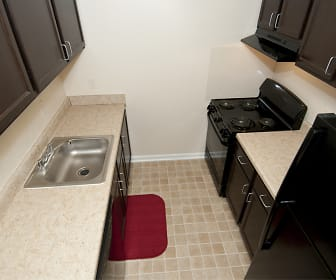 Remodeled Apartment Kitchen, Weston Circle & Wicklow Square