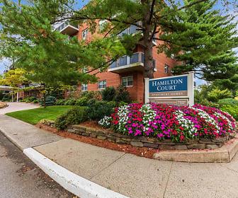 Community Signage, Hamilton Court Apartments