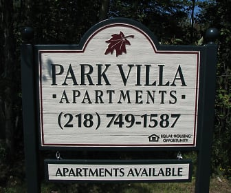Community Signage, Park Villa Apartments