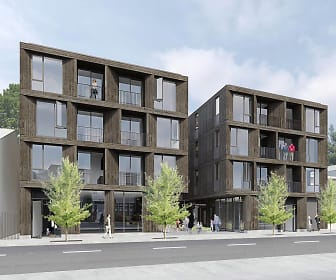 Rendering, Abernethy Flats Apartments