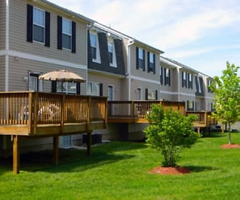 Building, Copper Beech Townhomes-Columbia