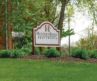 view of community sign, Hunter's Ridge