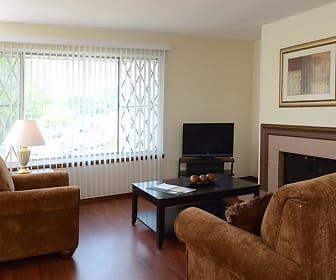 Living Room, Kingsway Apartments