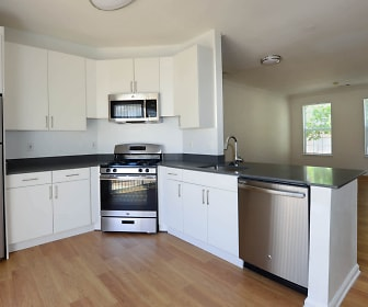 Kitchen with Stainless Steel Appliances, Town Square at Mark Center