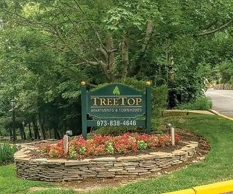 Community Signage, Treetops Apartments