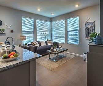 Living Room, Sierra Vista Apartments