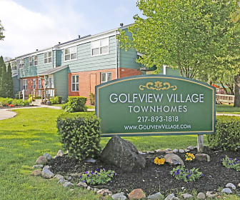 Community Signage, Golfview Village