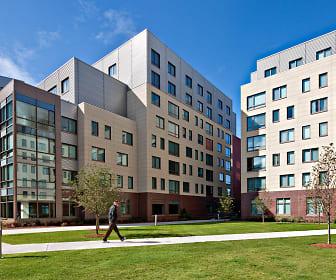 Third Square, Emmanuel College, MA