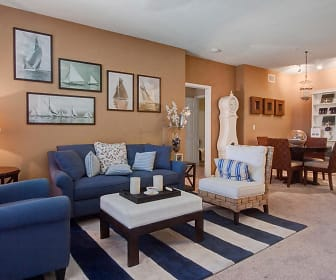 Open Concept Living and Dining, Rivers Edge