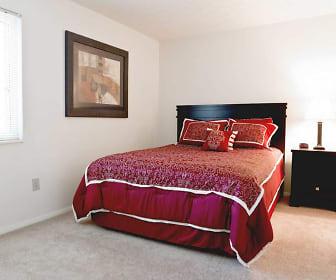Bedroom, The Village on Beavercreek Apartments