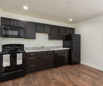 Kitchen, Metro Apartments at Granite City