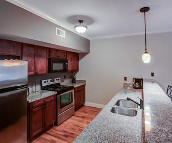 Kitchen, Hayden Place Apartments