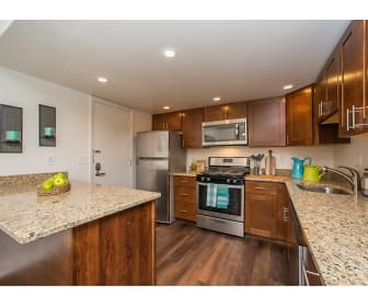 Newly remodeled kitchens with plenty of beautiful granite counter space, Grandview Pointe